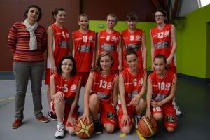 les U15 féminines victorieuses